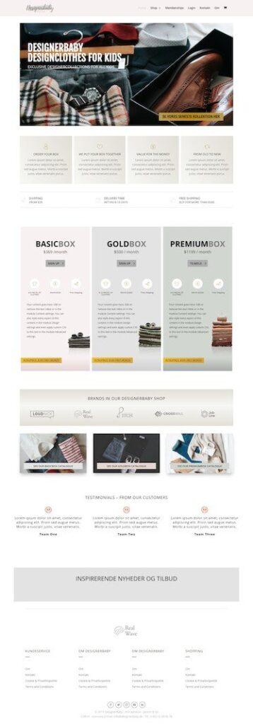 Designerbaby Theme